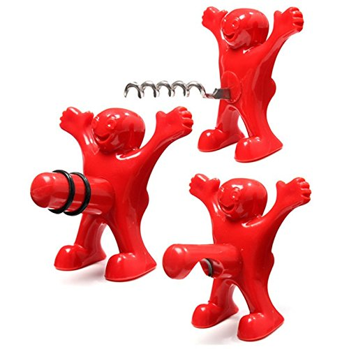 Bottle stopper - opener