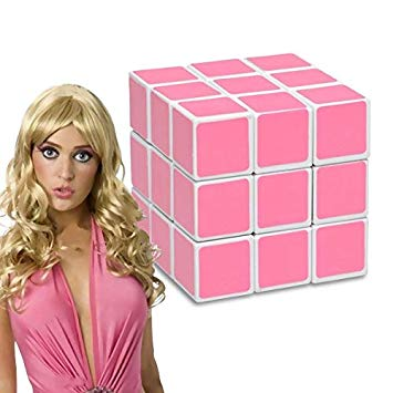 Pink cube for blondes