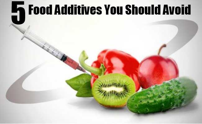 Food Additives That You Should Avoid