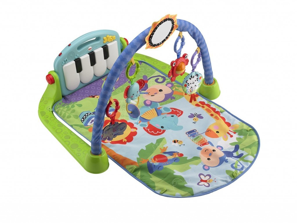 Baby Toy's for 0-6 months: Fisher-Price kick and play piano gym